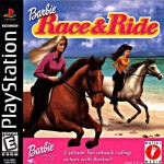 Barbie race and ride game for ps1 psp