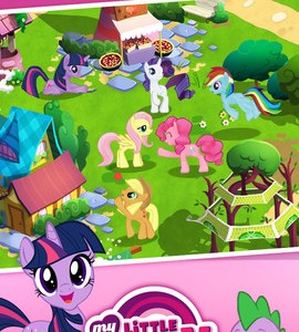 My little pony tv show horse game app