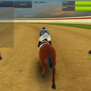 Race horse champions: riding horse game