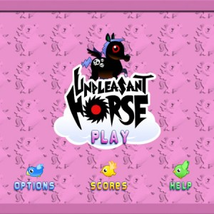 Unpleasent horse: iphone, ipad and ipod horse arcade game