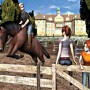 Horse Jump Training in i love horse riding game