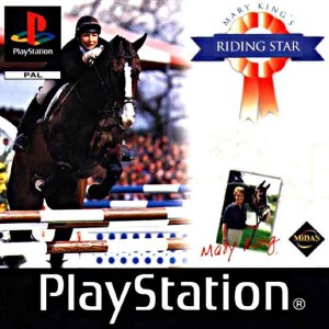 Mary king's riding star PS1 PC game