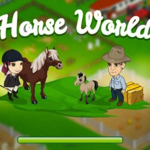 Horse world on facebook